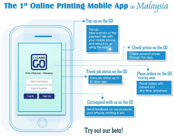 Business card master app gallery card design and card template excard online printing malaysia business card name card the 1st online printing mobile app in malaysia reheart Image collections